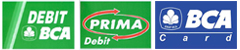 bca debit amp credit card payment garasi 64