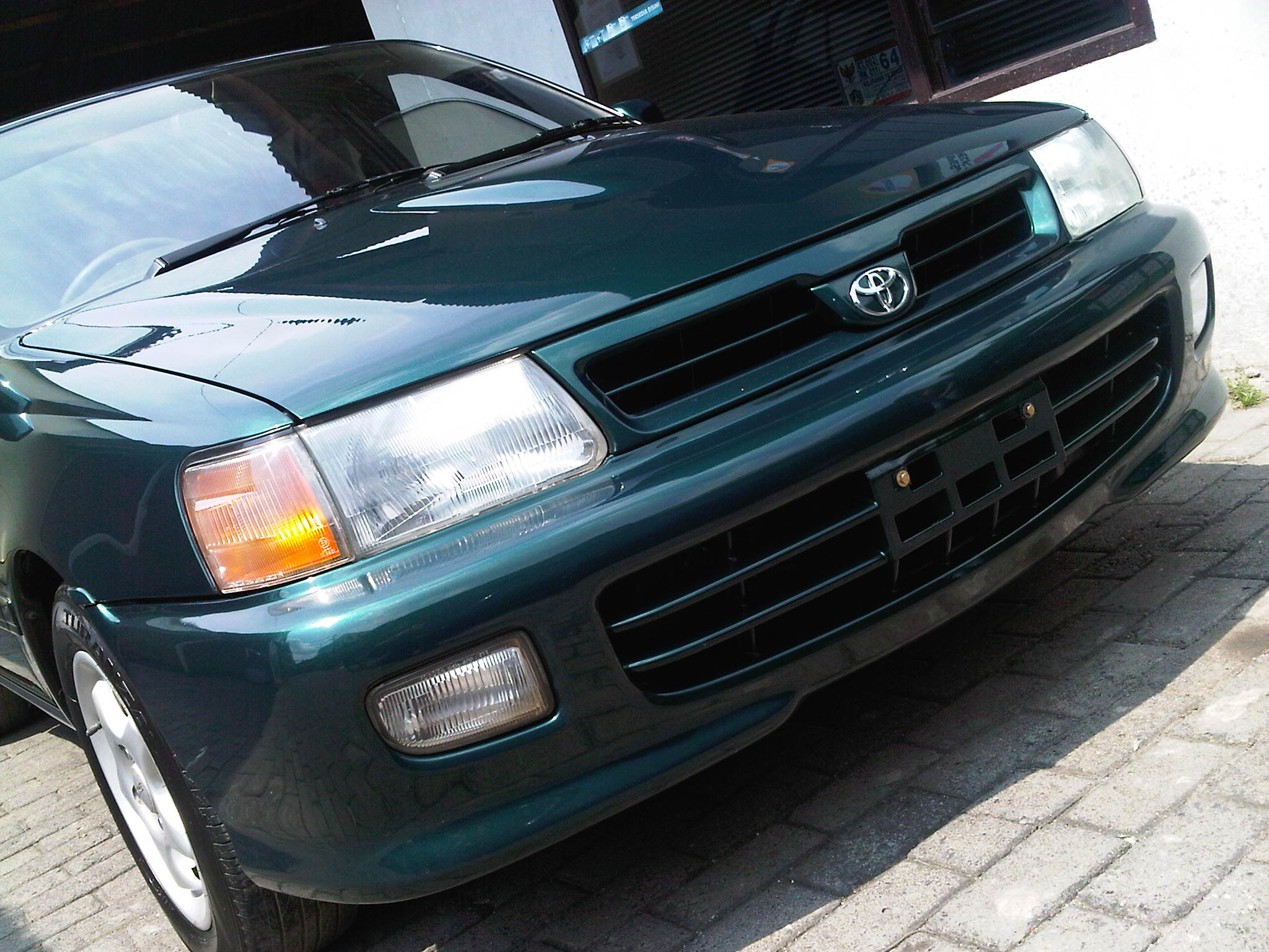 Toyota Starlet Dark Green