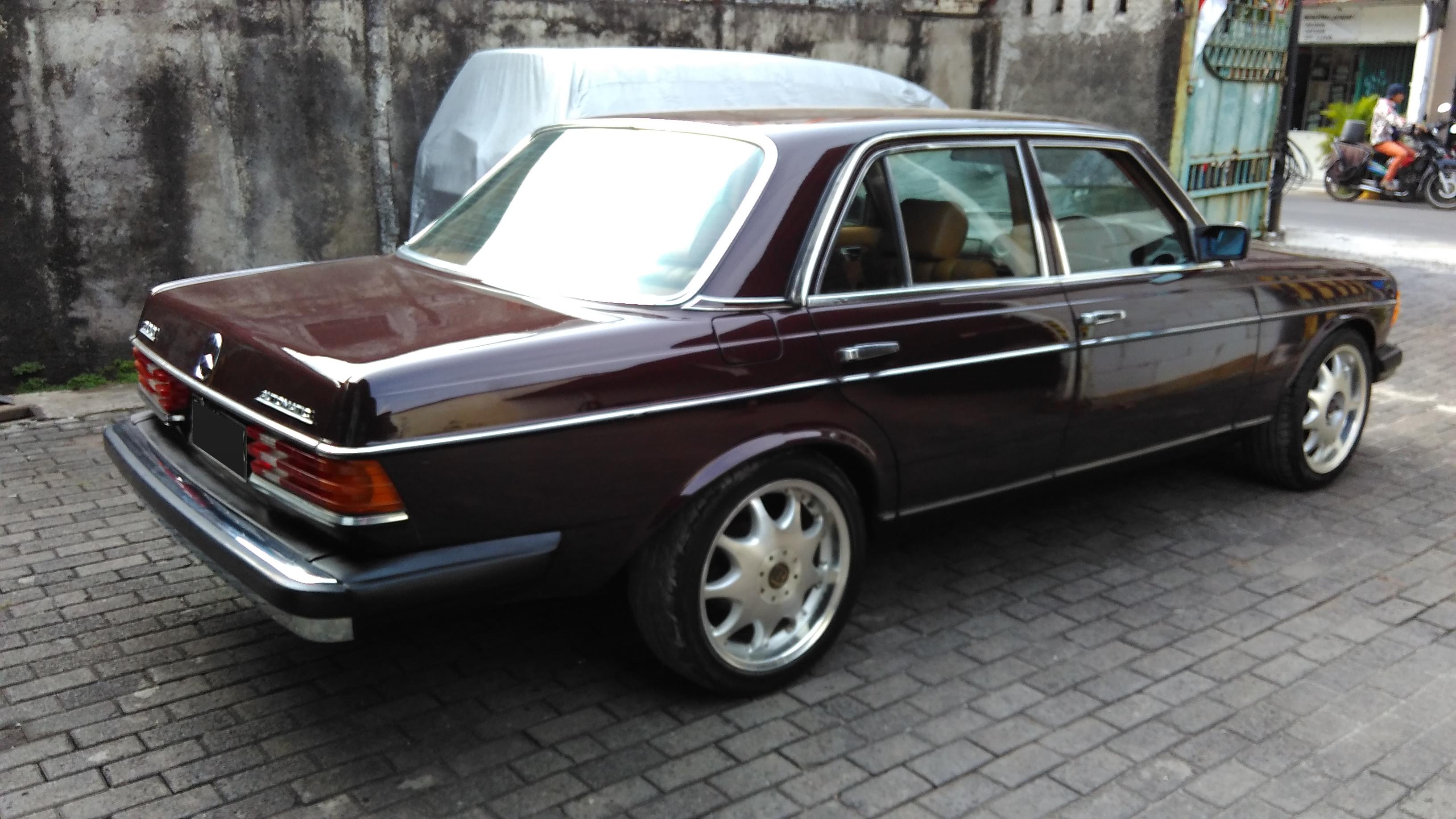 1984 mercedes benz 200 w123 garasi 64 for 1984 mercedes benz