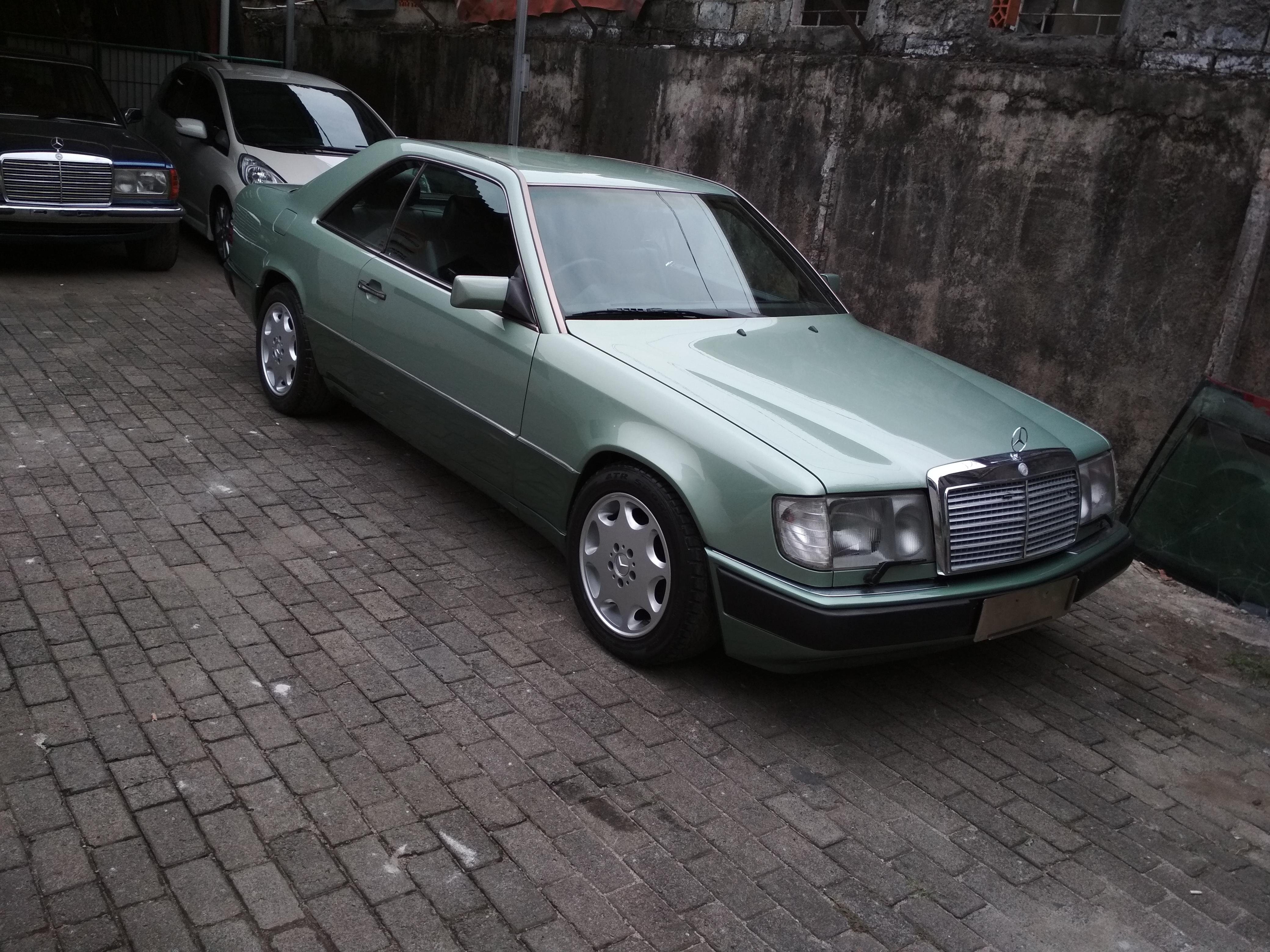 1991 mercedes benz 300ce w124 garasi 64 for Mercedes benz 300ce